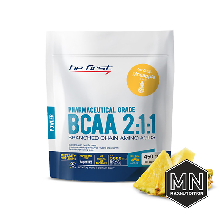 Be First - BCAA 2:1:1 Powder pack