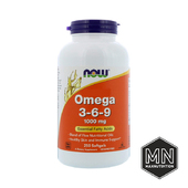 NOW - Omega 3-6-9 1000 мг, 250 капсул
